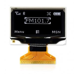 1.3inch 128×64 PMOLED