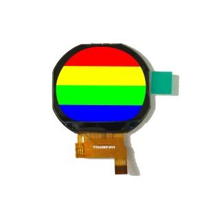 """1.22"""" circular TFT LCD Display"""