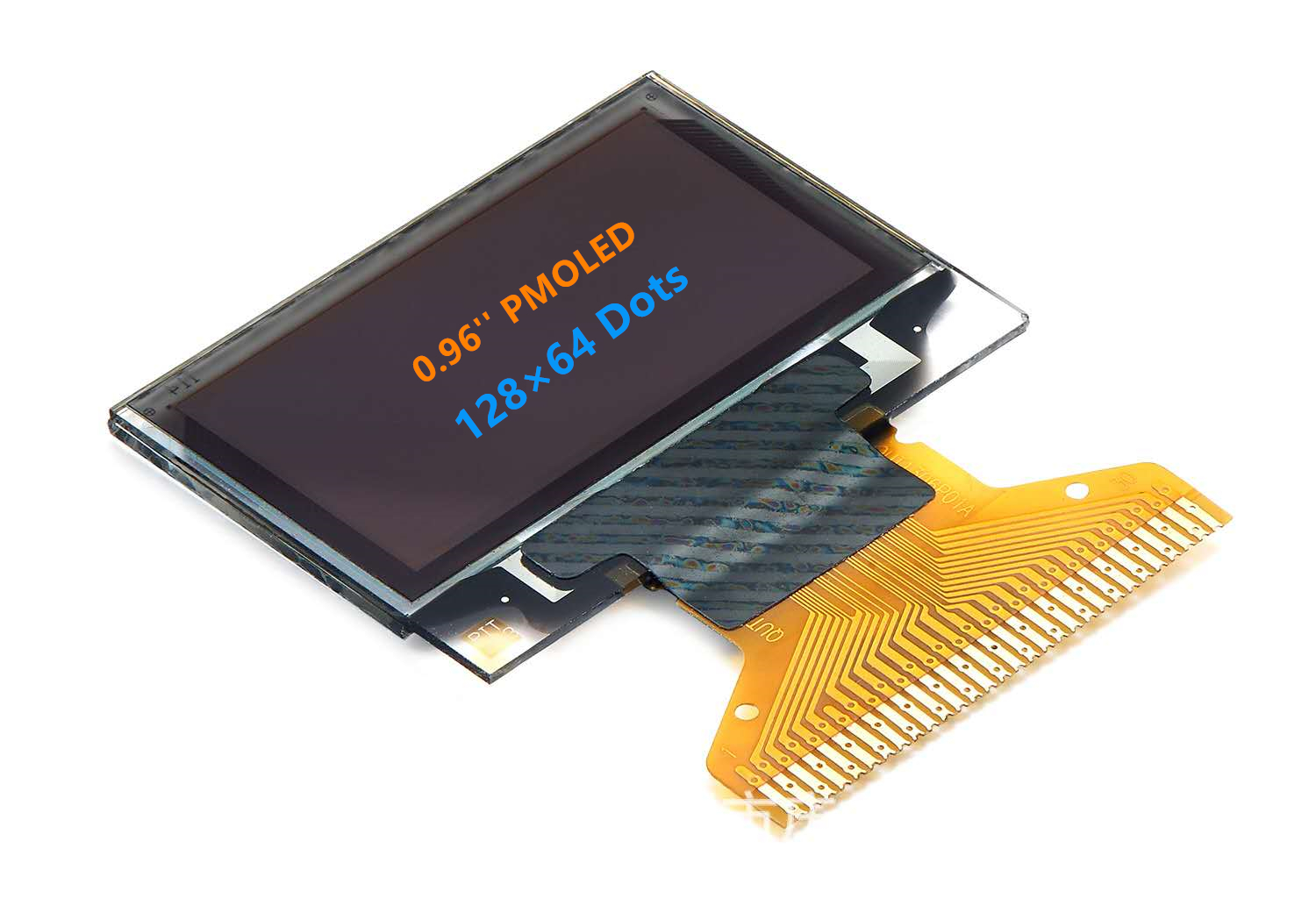 0.96″ OLED Bicolor Display (SPI/I2C) 128X64 (Blue&Yellow) Featured Image