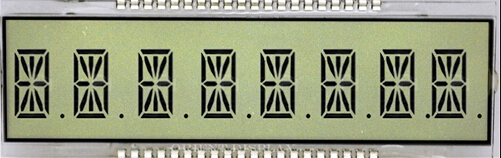 14 Segment LCD displej