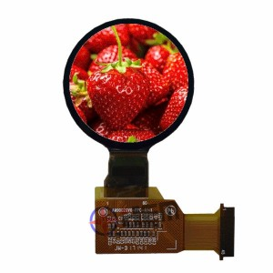 1.3inch AMOLED  360RGB×360 display