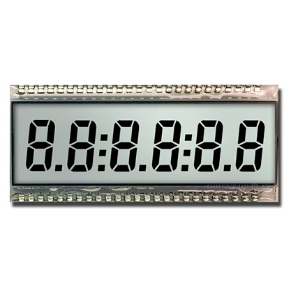 Segment-LCD-Display-Modul Ausgewähltes Bild