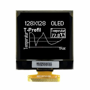 "1,5 ""128 × 128 display PMOLED"