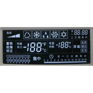 Negative LCD Display-Segment-LCD-Modul