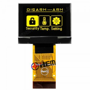 1.1inch OLED 96×64 Yellow Color SSD1325