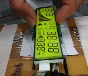 FSTN LCD Customized graphic lcd china manufacturer green yellow white bue LCD display module