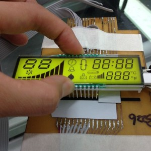 módulo display LCD segmento FSTN LCD Customerized