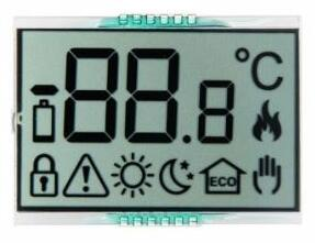 Customized LCD display for Heating System