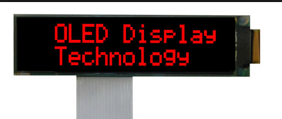Professional Design Character OLED Display Supply to Doha