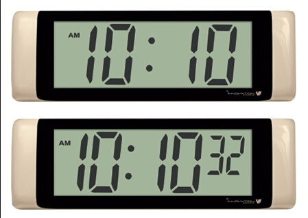 China New Product Clock LCD Display In Curacao