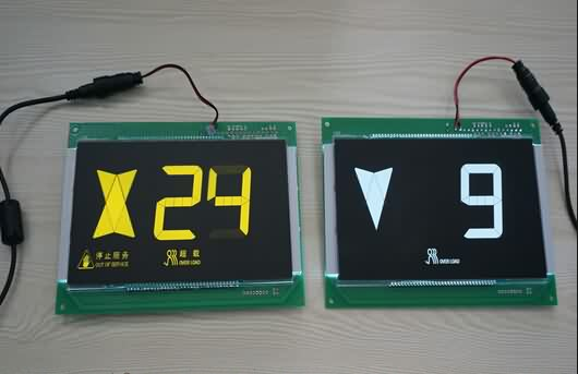 Europe style for Elevator LCD Display Supply to Norway