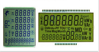 High Definition For Energy Meter LCD Display Macedonia