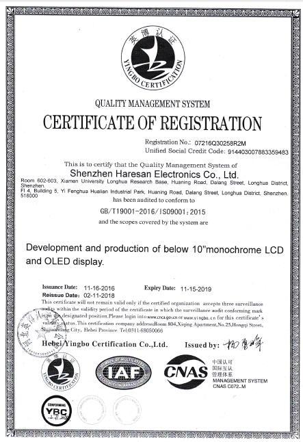 HARESAN ISO9001