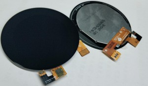 2.1inch round shape TFT LCD display with Capative Touch Panel MIPI Interface