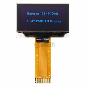 1.54inch PMOLED Display 128×64 dots Blue OLED Display