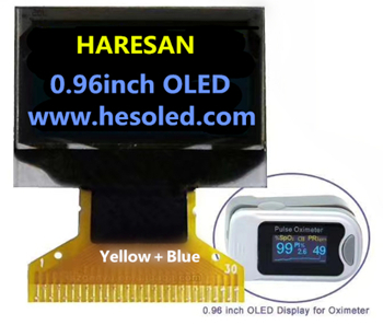 HOT Dicolor 0.96inch OLED Display for Oximeter Featured Image