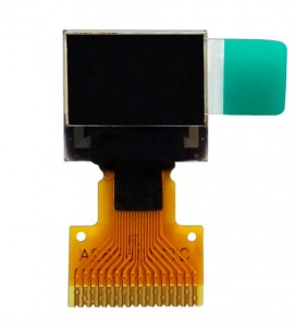 "0.42"" OLED Display 72×40 resolution white OLED 4-wire SPI, I2C Free Viewing Angle"