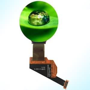1.39 inch mipi dsi hdmi active matrix oled display round shape for high-end wearable device